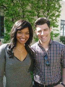Talia and Max Greenfield on New Girl