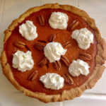 Four Ingredient Vegan Pumpkin Pie that's OMG Delicious
